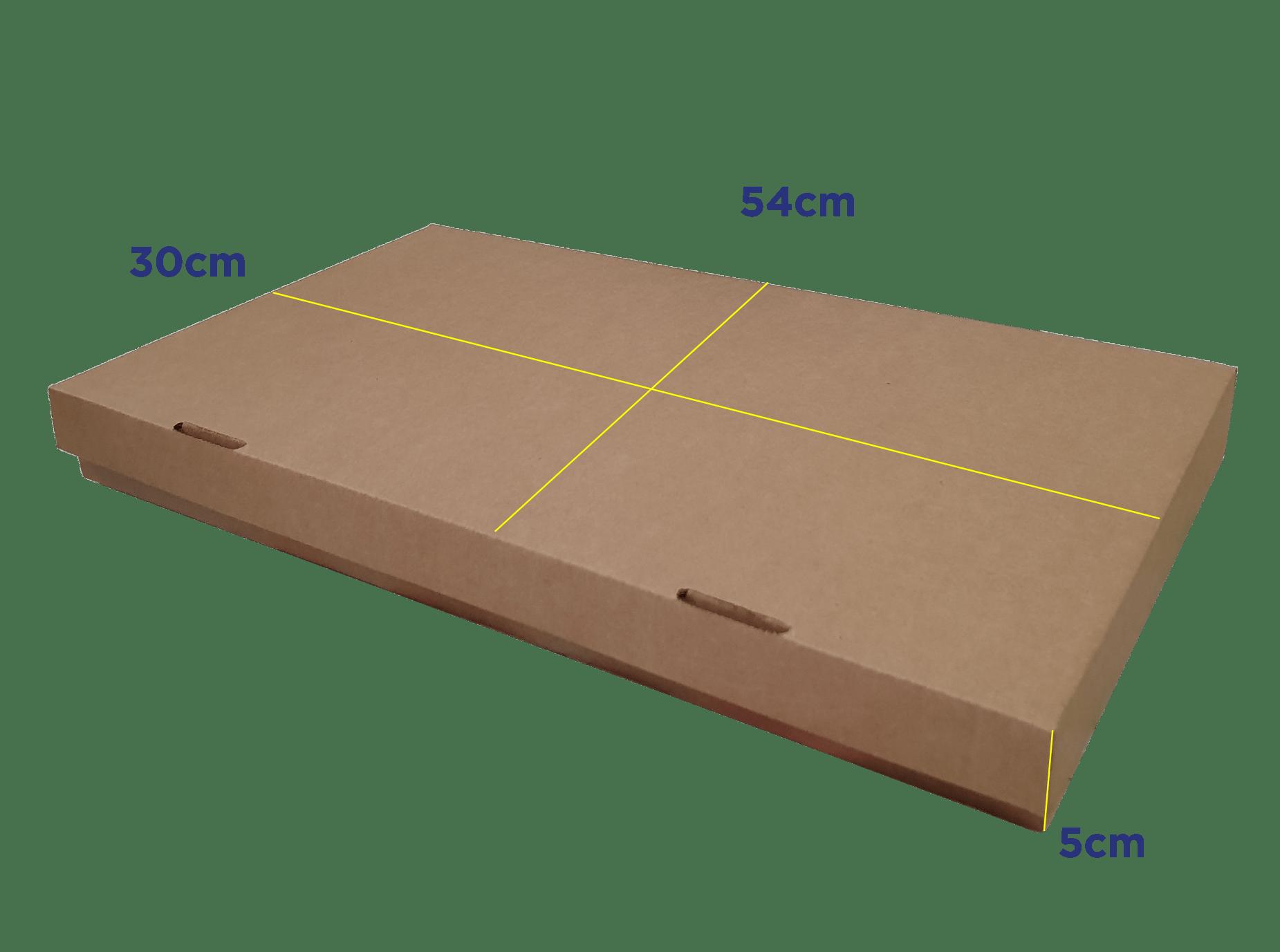 CAIXA RETANGULAR G - 54 x 30 x 5cm - PACK C/25 UND
