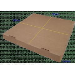 CAIXA PIZZA QUADRADA 35 - 35 x 35 x 4,5cm - PACK C/25 UND   - Cópia (1)