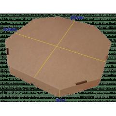 CAIXA DE PIZZA GG - PZ40 - 40 x 40 x 3cm - PACK C/25 UND